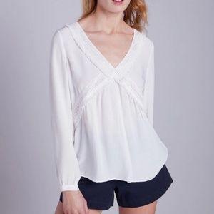 White Label Boho Long Sleeve Embroidered Blouse 12